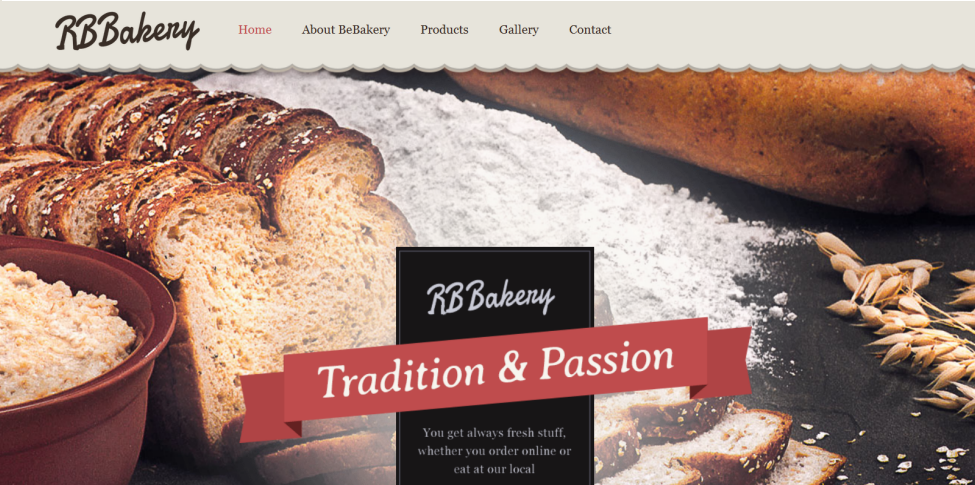 Bakery Website Design by Online Business Marketing Solutions in Dayton Ohio