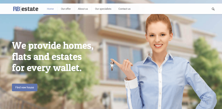 Professional Web Design in Dayton Ohio by Online Business Marketing Solutions - Real Estate Website